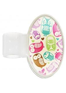 Etiqueta Identificación Estetoscopio Owl Cream