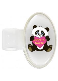 Etiqueta Identificación Estetoscopio Panda
