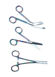 Set de tijeras de enfermera Color Spirals