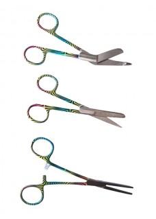 Set de tijeras para enfermeras Funky