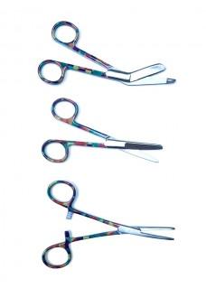 Set de tijeras de enfermera Geometric Vintage