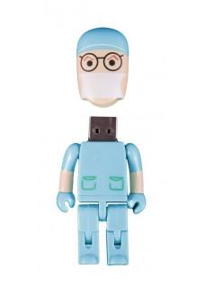 Memoria USB Cirujano Turquesa