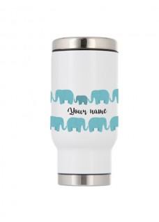 Taza Térmica de Viaje Elefantes