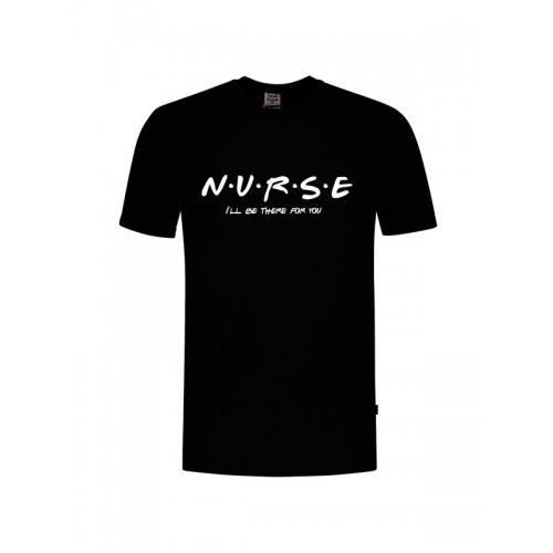 Camiseta Nurse For You Negra
