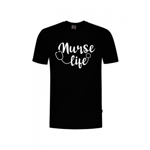 Camiseta Nurse Life Negra