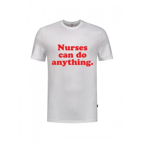Camiseta Nurses Can Do Anything Blanca