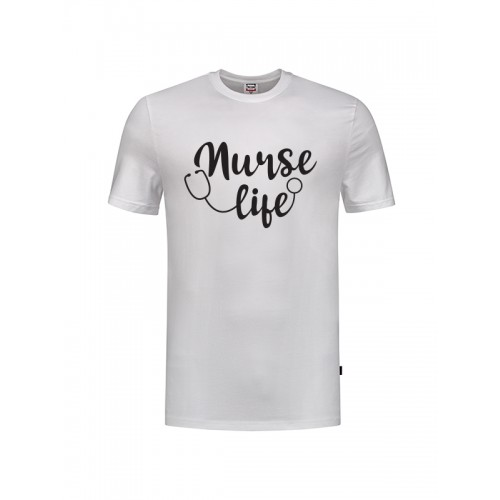 Camiseta Nurse Life Blanca