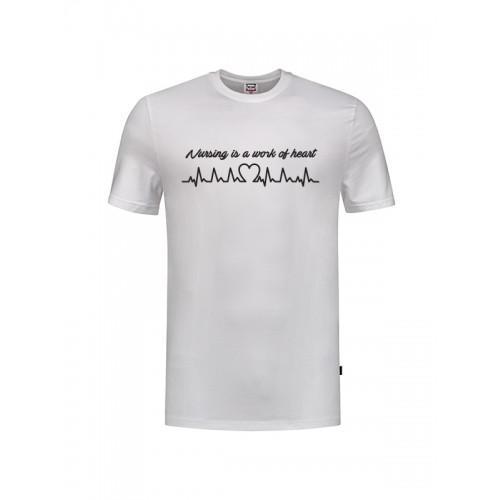 Camiseta Work of Heart Blanca