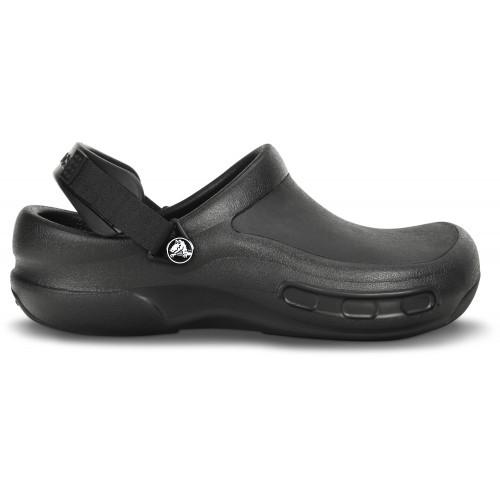 Fuera de stock - talla 3738 Crocs Bistro Pro Negro