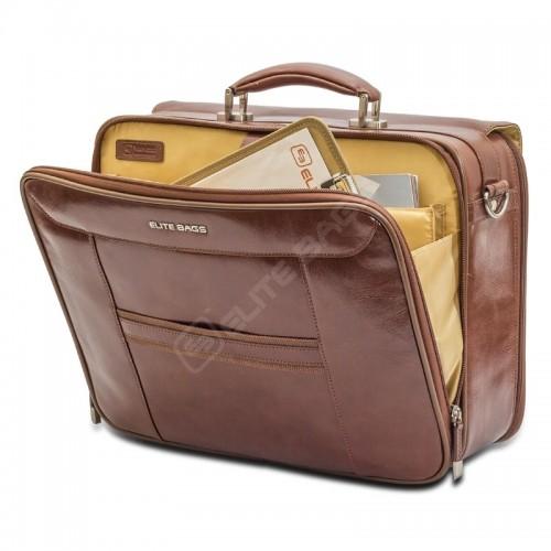 Elite Bags DOCTOR'S Cuero Marrón