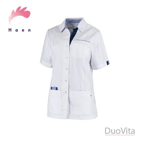 Haen Casaca sanitaria Pauline Blanco / Azul Navy Cross