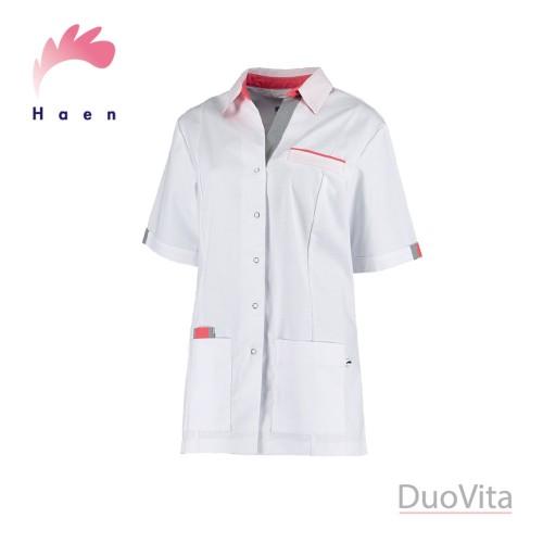 Haen Casaca sanitaria Pauline Blanco / Gris Orient Pink Cross