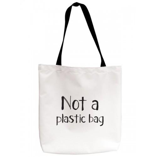 Bolsa Tote Not Plastic