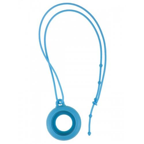 Collar silicona azul