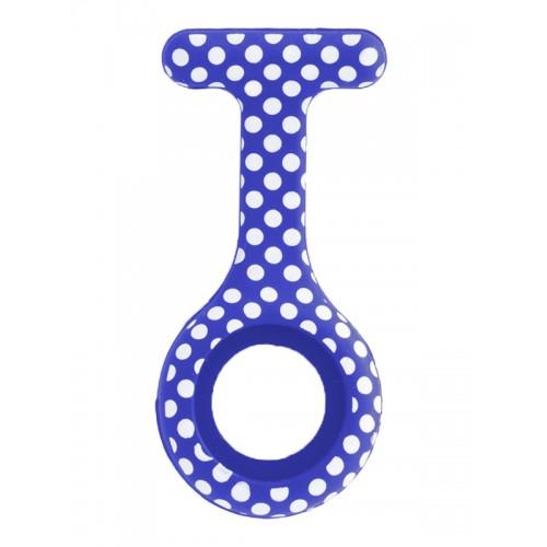 Funda de Silicona Polka Dots Azul