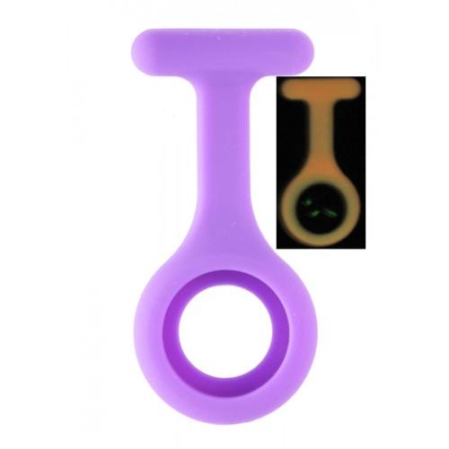 Funda de Silicona Fluorescente Violeta