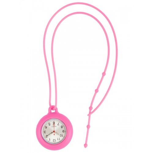 Reloj silicona cordón Rosa