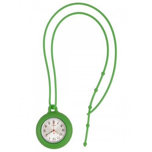 Reloj silicona cordón Verde