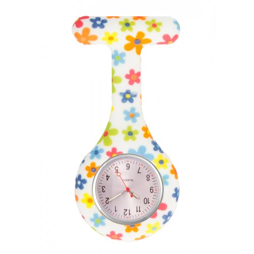 Reloj enfermera Silicona Flores