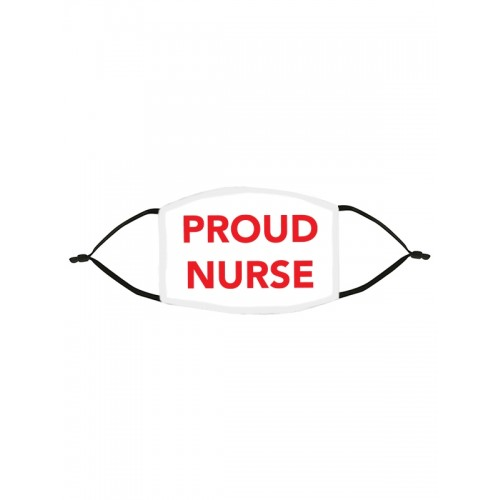 Mascarilla de Tela Tapabocas Proud Nurse