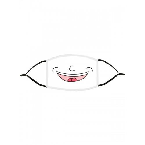 Mascarilla de Tela Tapabocas Smile