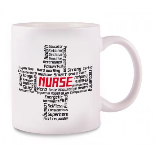 Taza Cross Nurse