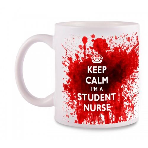 Taza Student Nurse con tu Nombre