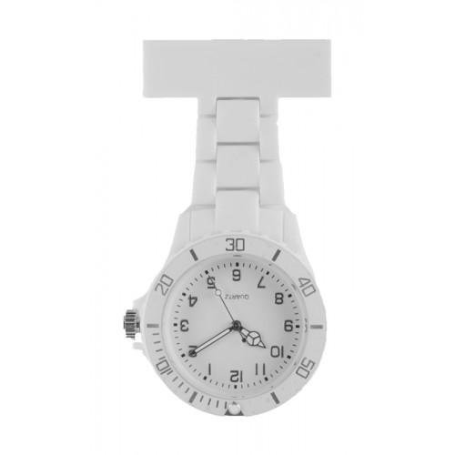 Reloj de enfermera Neón Blanco