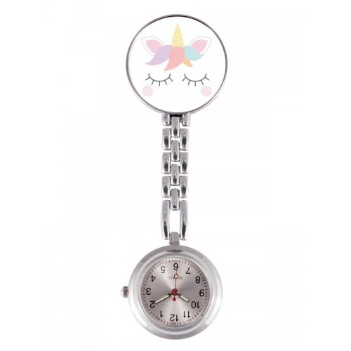 Reloj Enfermera Unicornio