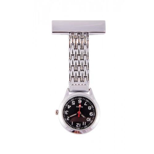 Reloj Enfermera Elegante Negro