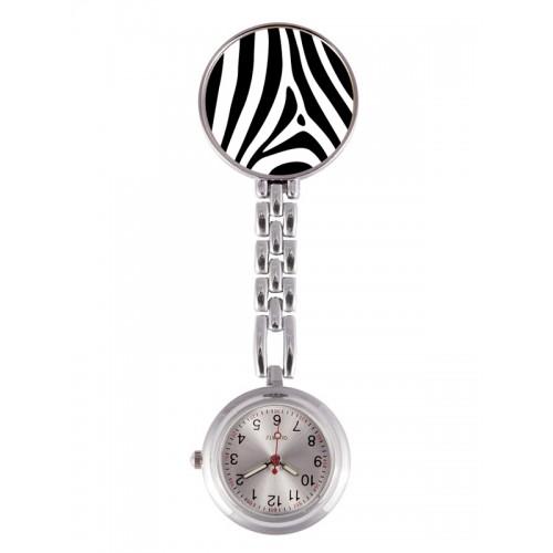 Reloj Enfermera Cebra