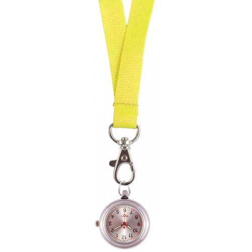 Reloj colgante para Enfermeras amarillo