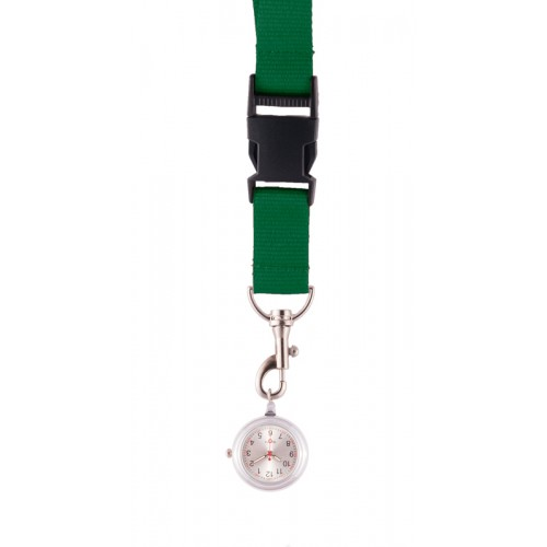 Reloj colgante para Enfermeras verde