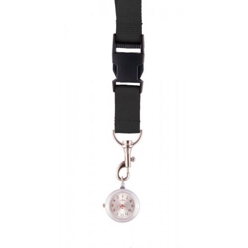 Reloj colgante para enfermeras Negro