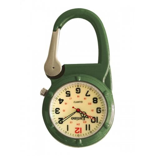 Reloj Mosquetón 470 Luminoso Verde