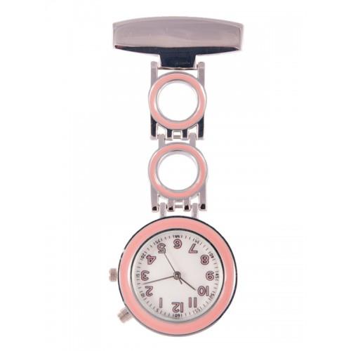 Reloj Enfermera Bubble Rosa