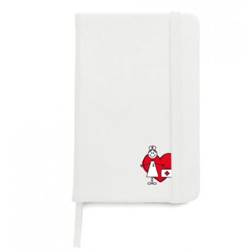 Cuaderno A5 Stick Nurse