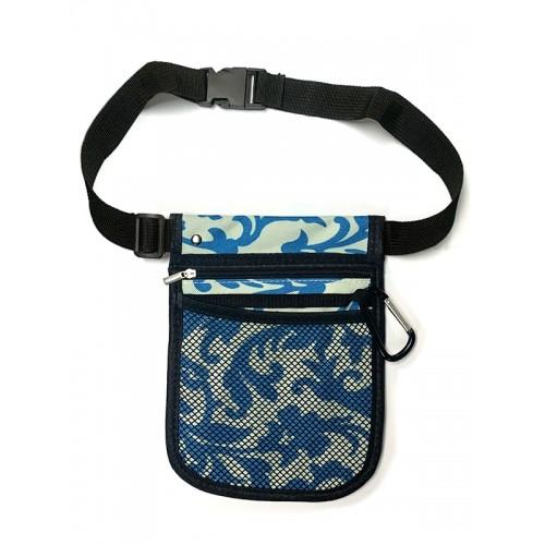 Organizador de bolsillo para enfermera Swirls Azul