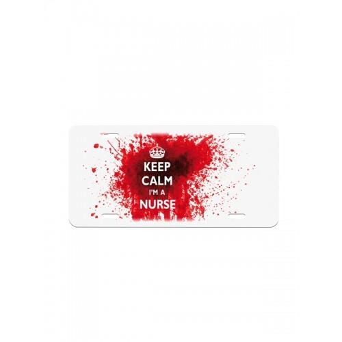 Matrícula Keep Calm Nurse