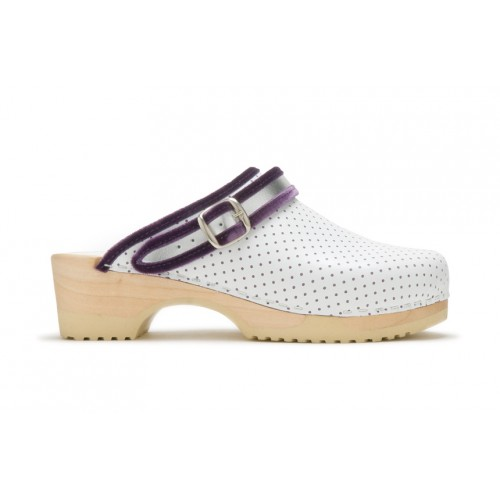 Tjoelup Strap Perfo White Purple
