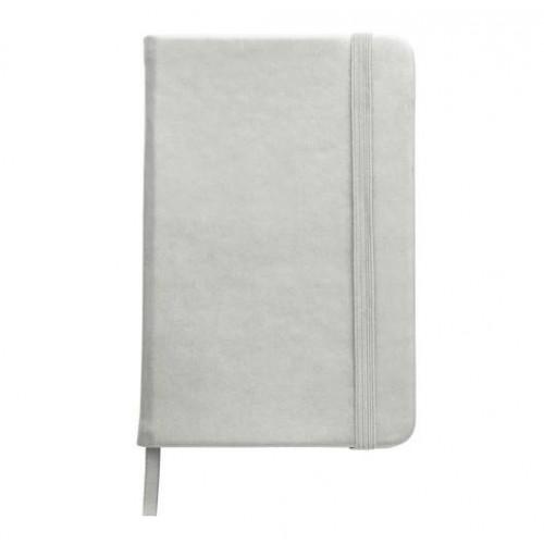 Cuaderno A6 Plateado