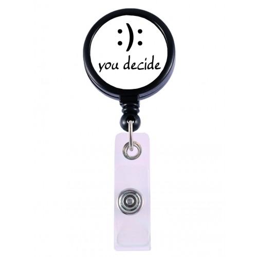 Porta Credenciales Retráctil You Decide