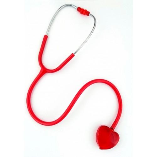 Estetoscopio Clear Sound - Corazón Rojo