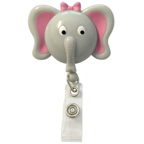 Pinza Retráctil Tarjetas Identificativas Elefante