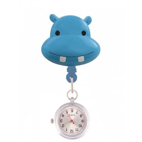 Reloj Enfermera Elefante Hipopótamo