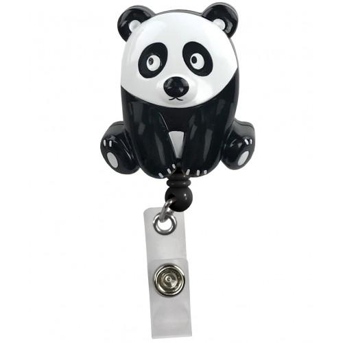 Pinza Retráctil Tarjetas Identificativa Panda