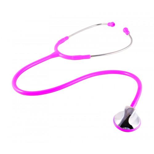 Estetoscopio clínico rosa