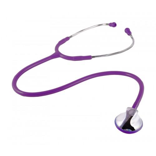 Estetoscopio clínico morado