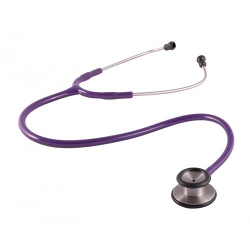 Estetoscopio clínico 2 cabezas Granate