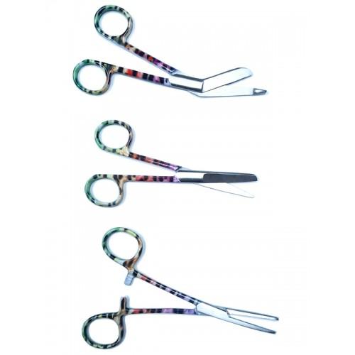 Set de tijeras de enfermera Pantera Multicolor